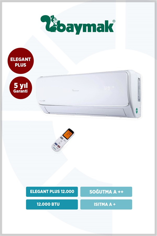 FIRSAT Baymak Elegant Plus 12 A++ 12000 BTU (MONTA